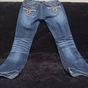 Rock Revival Sz. 25 Essie boot cut denim jean